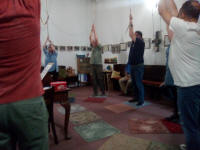 Ringing at Great Yarmouth on SMLT Outing.