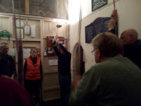 Ringing at Pettistree practice.