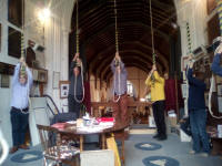 Ringing at Hatfield on the 2019 SE District Outing.