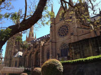 St Mary's Cathedral, Sydney.