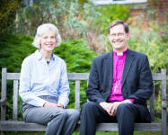 Bishop Nigel and Carolyne.