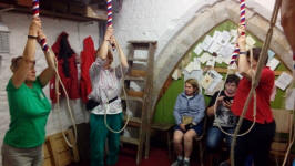 Ringing at Chelmorton.