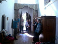 Ringing at Falkenham on the Woodbridge Outing.