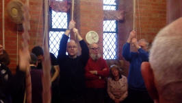 Ringing at the South-East District Practice at Felixstowe.