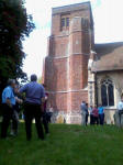 Listening to the Six-Bell Competitions at Ashbocking.