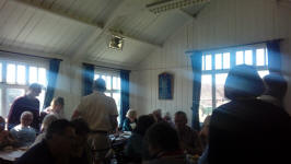 Lunch in Earl Stonham Church Hall.