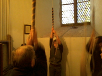 Ringing at Hasketon for the 2014 South-East District ADM.