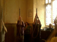 Ringing at the South-East District Practice at Helmingham.