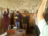 Ringing at Kessingland on Pettistree outing.