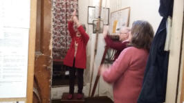 Ringing at Pettistree on Christmas morning.