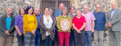 Ringers at Pettistree.