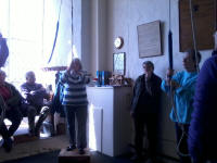 Ringing at Buxhall.