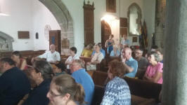Rambling Ringers Tour Meeting at Lustleigh.
