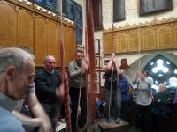 Ringing at St Mary-le-Tower at the 2019 Suffolk Guild AGM.