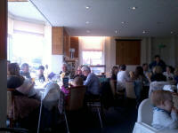 Gathered for the St Mary-le-Tower Dinner at Felixstowe Ferry Golf Club.