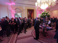 US Ambassador's Reception at Winfield House.