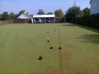 The John Catt Bowls Tournament at Alderton Bowls Club.