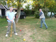 Croquet at High Hill House