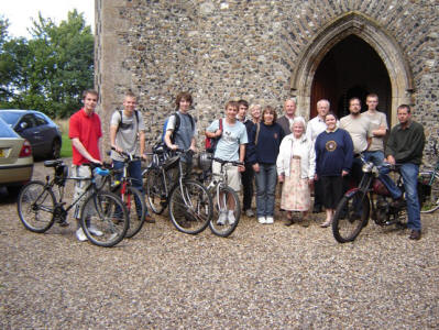 Debenham Ringers' Cycle Tour 2008