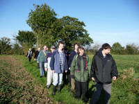 Debenham Ringers Walk October 2008