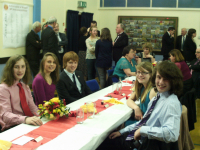 Young ringers enjoying the occasion.