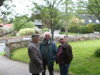 Three wise men - Maurice Rose, Don Price & Guild Chairman Alan Stanley.