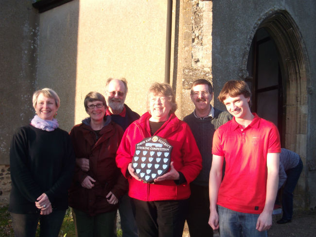Sweffling Band - Pat Bailey Shield Winners 2012.