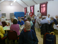 The Meeting in Sproughton Village Hall.