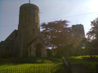 The Twin Towers of Swaffham Prior - the bells are in the right hand church.