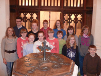 Young Ringers at Otley.