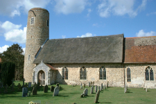 Picture of Most Holy Trinity, Barsham.