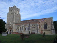 Picture of All Saints, Holbrook.