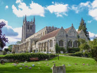 Picture of Holy Trinity, Long Melford.