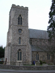 Picture of All Saints, Newmarket.