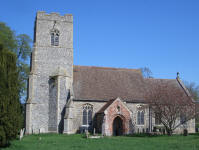 Picture of All Saints, Stoke Ash.