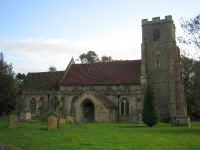 Picture of All Saints, Wickhambrook.