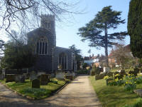 Picture of St Mary the Virgin, Woodbridge.